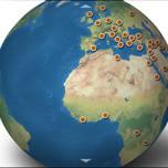 Genographic Globe